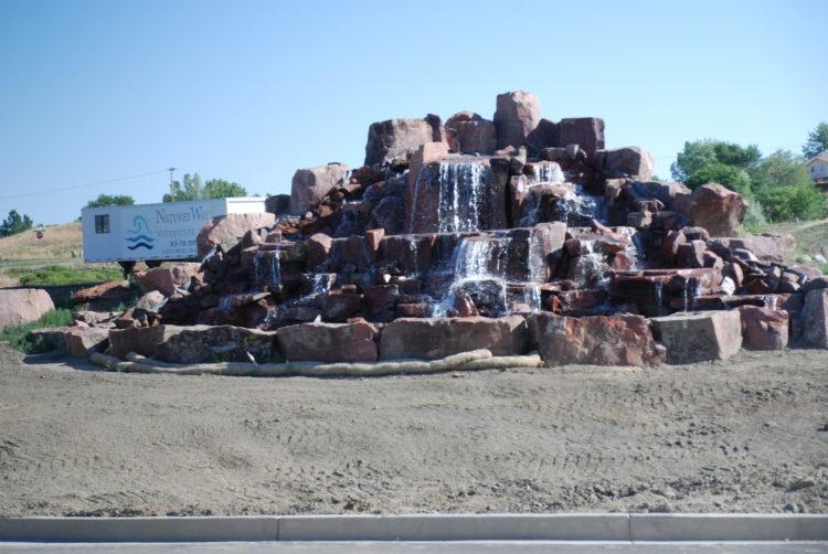Norwood Development Fountain
